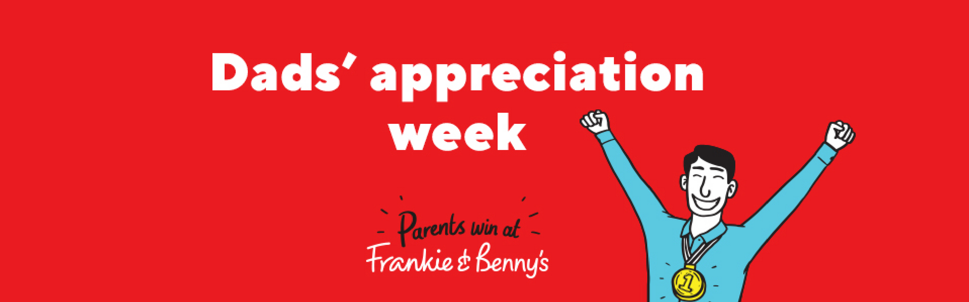 Father's Day at Frankie & Benny's