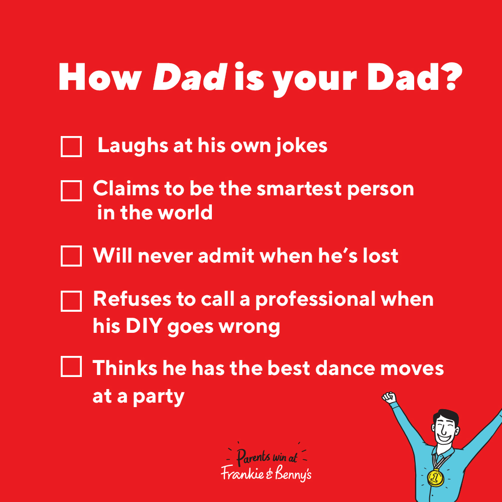 How Dad is your Dad