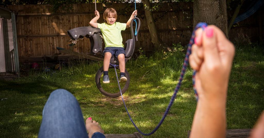 Parents Win The Easy Swing