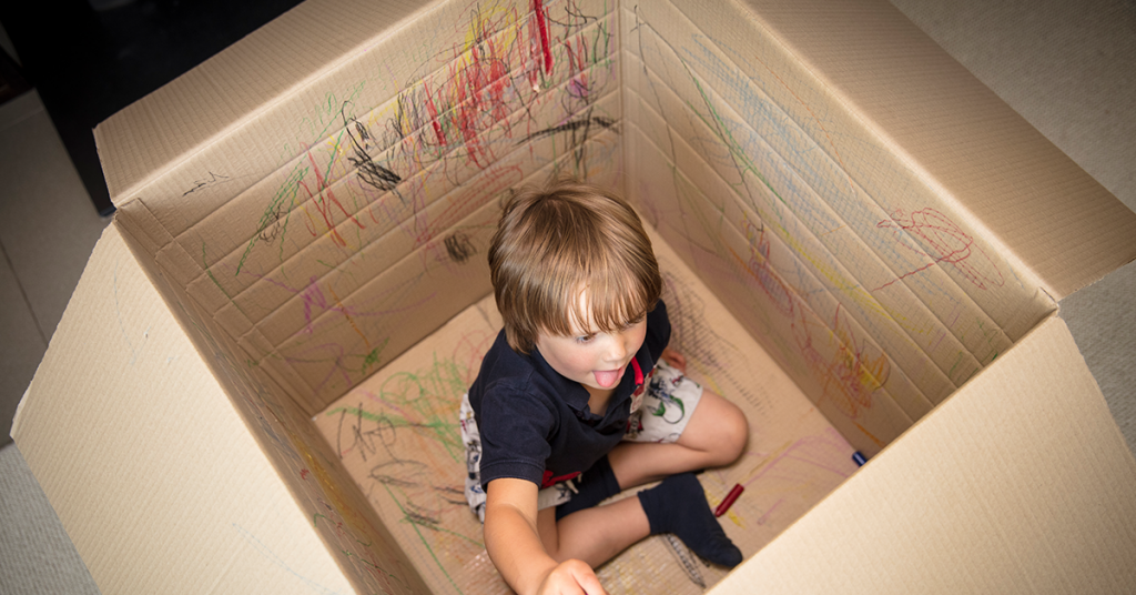 Parents Win The Scribble Box