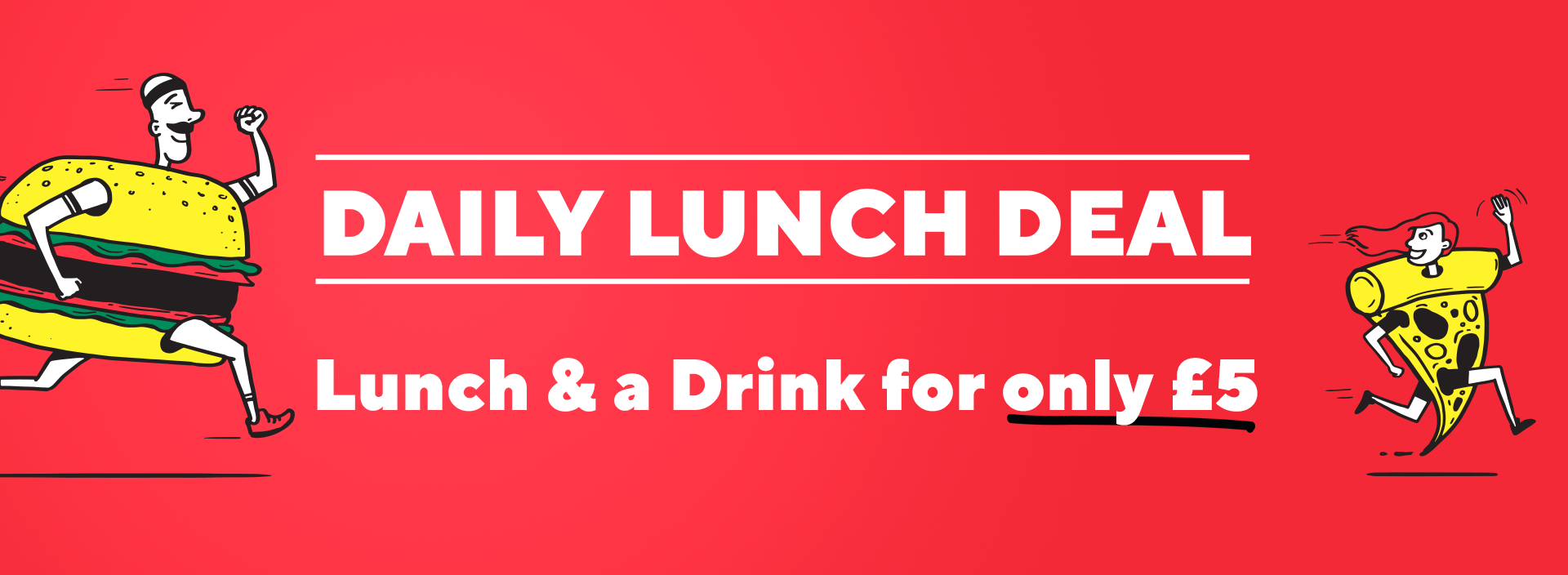 Daily Lunch Deals Header