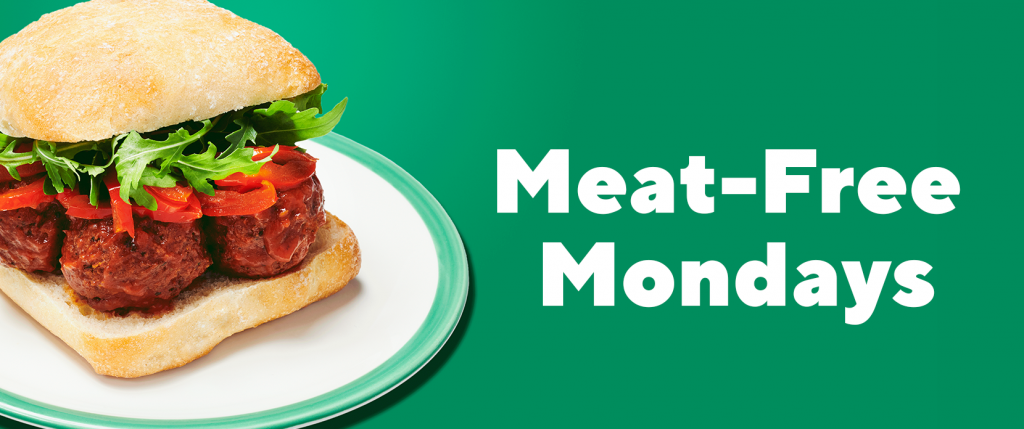Meat Free Mondays Lunch Offer